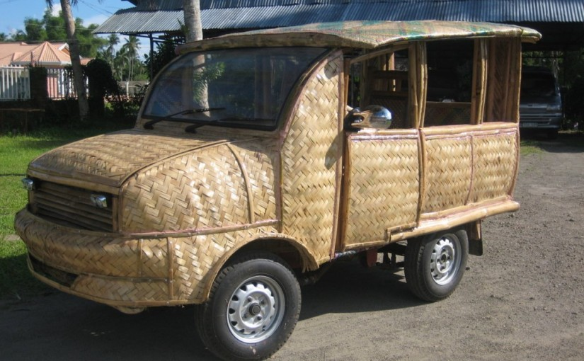 Can bamboo replace the carbonfibre?
