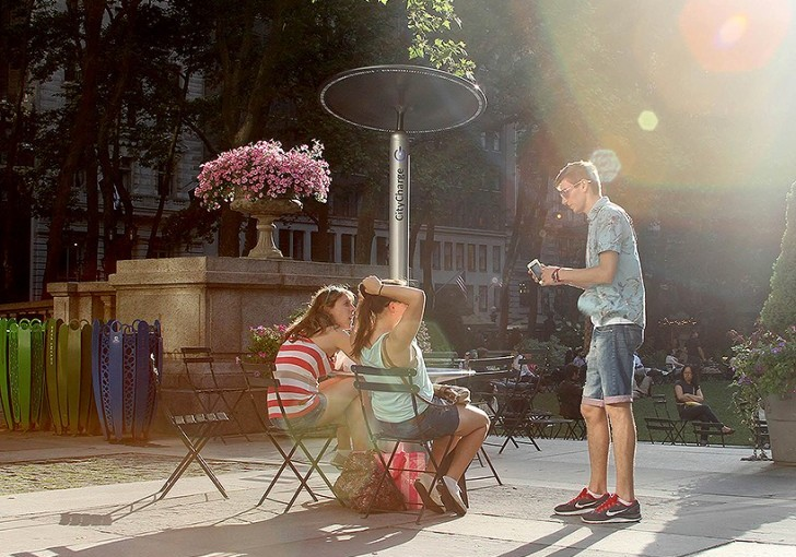 Juice Up Your Phone At Social Solar Charger While In NYC