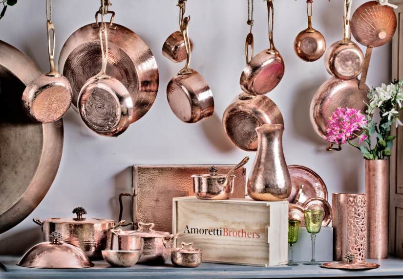 Copper Pots And Pans: The Rolls-Royce of All Cookware