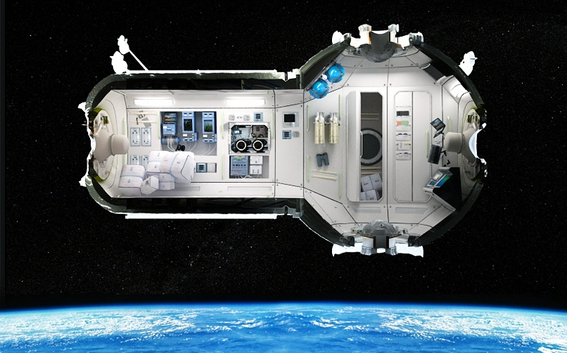Galactic Prefab Offers Vacations in Space