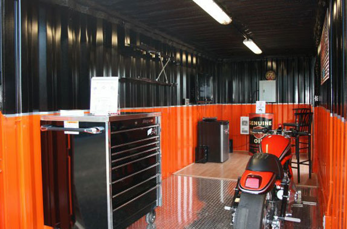 Container Garages U2013 The New Homes Of Harleys U2013 Shanghai Metal Corporation