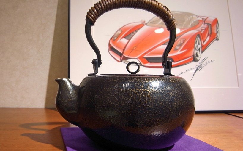 Luxurious Teaware Design Inspired by Ferrari