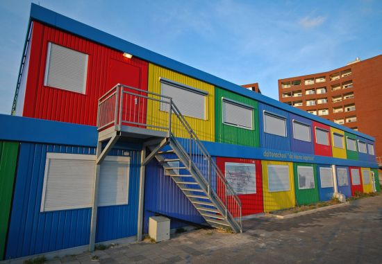 modern kindergarten exterior design with Container Schools on Top 10 Amazing Modern Kindergartens Children Love Go likewise Suppose Design Office Kiddy Shonan Cx Nursery School furthermore 12 Amazingly Colorful Buildings likewise 539728336570188020 also 56315b41e58ece22ae000537 Elementary School In Tel Aviv Auerbach Halevy Architects Photo.
