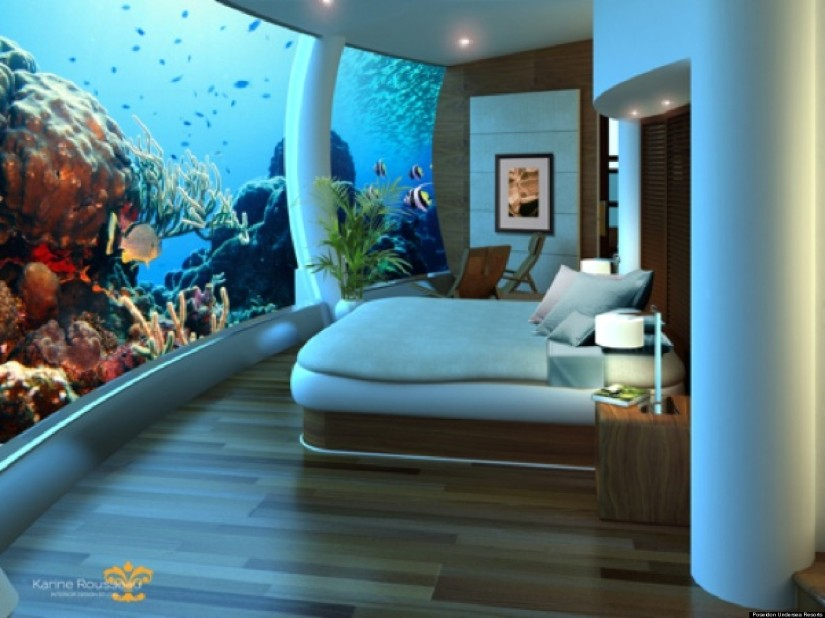 Beautiful Luxury Hotels Under the Sea