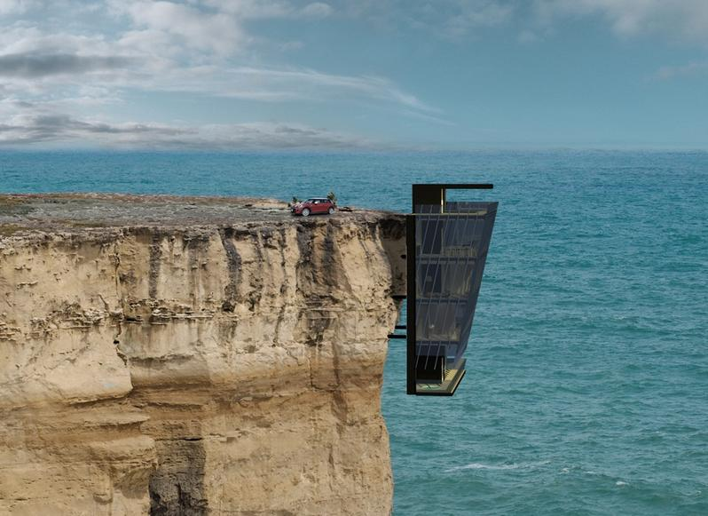 The Cliff House Defines the New Extreme of Prefab Architecture