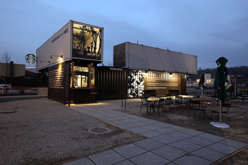 Shipping Containers – The World's Most Sustainable Restaurants