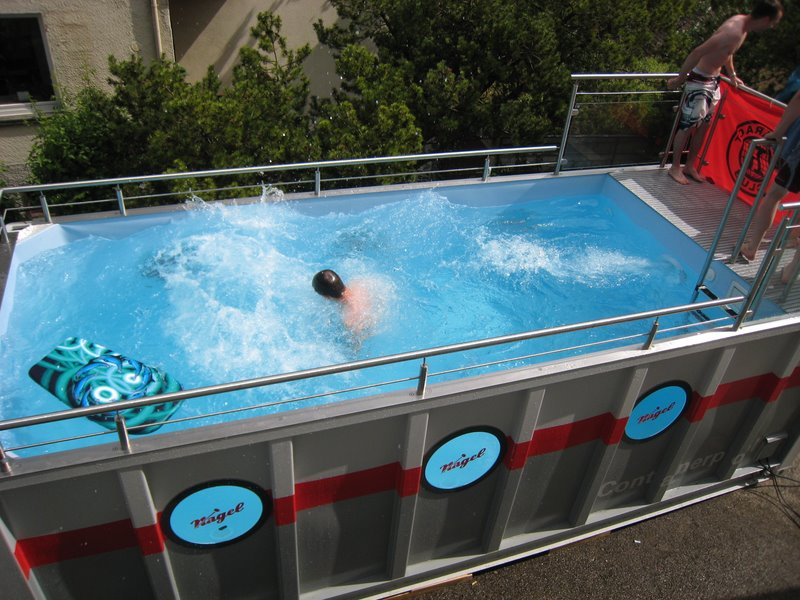 Shipping Container Swimming Pools Shanghai Metal Corporation