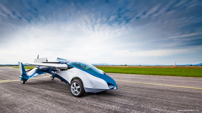 When a dream comes true – a flying car