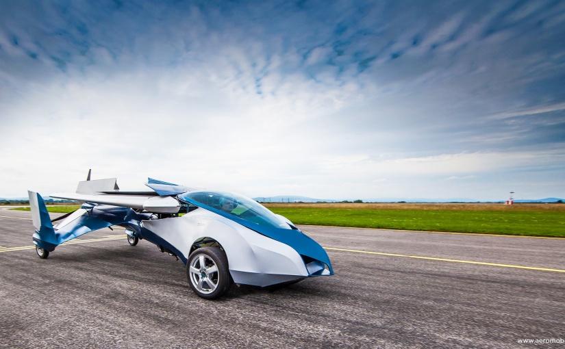 When a dream comes true – a flyingcar