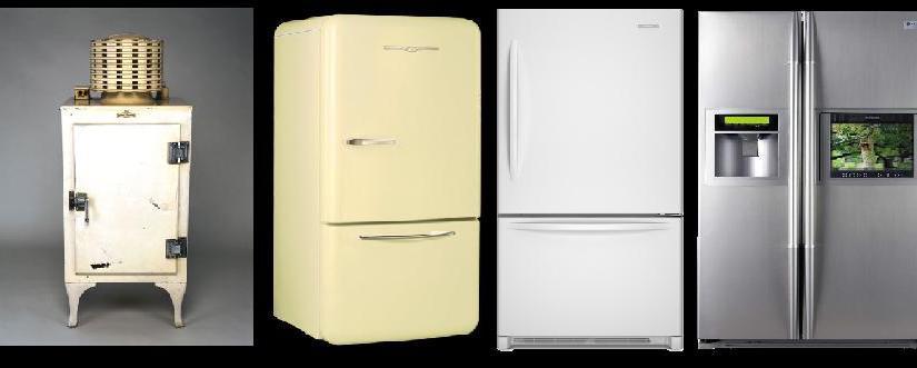 L'évolution des réfrigérateurs
