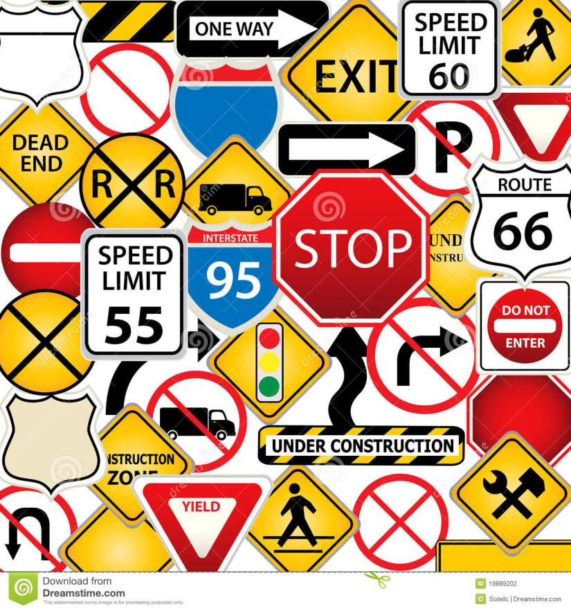 Entertaining Traffic Signs