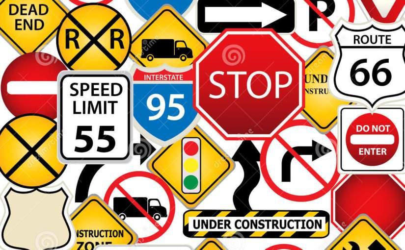 Entertaining Traffic Signs