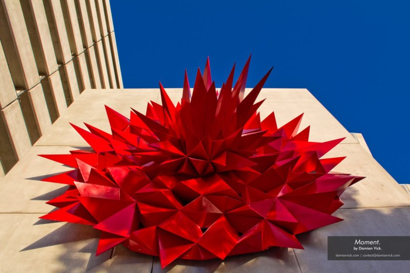 Hot dip galvanized steel sculpture brings art to the nextlevel