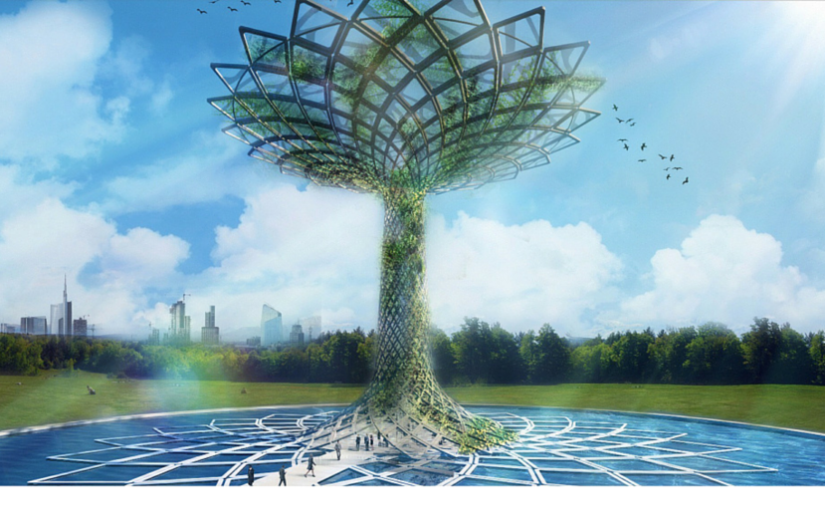 The Tree of Life – Milan 2015 Expo SteelSymbol