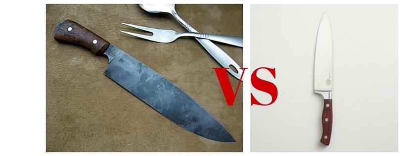 Stainless Steel VS Carbon SteelKnives