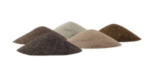 sands cones - minerals of mining industry