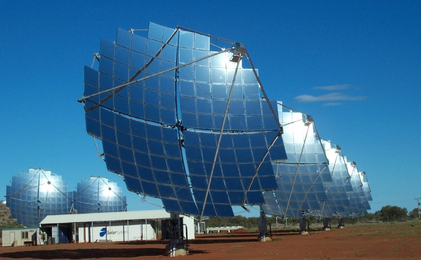 Use of Solar mirrors to Melt Metal, an efficient metal processing Method