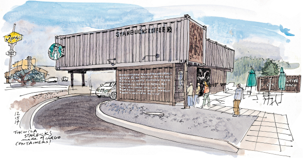 AN ECO-FRIENDLY AND CREATIVE CONCEPT: STARBUCKS SHIPPING CONTAINERSTORES