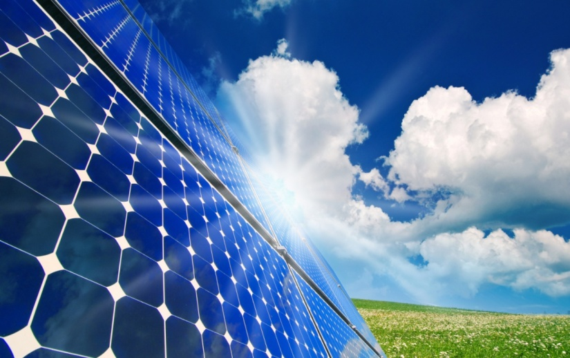 GO GREEN WITH SOLAR PANEL!