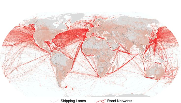 3 MAPS TO MAKE SENSE OF INTERNATIONAL SHIPPING