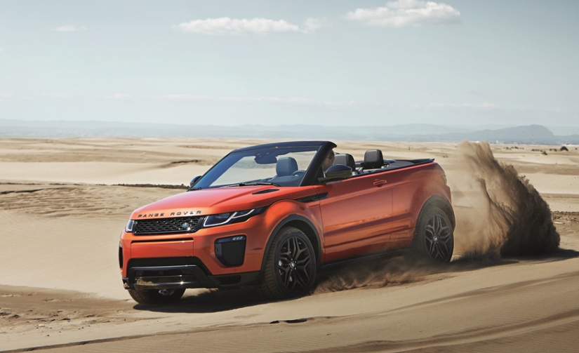 2017 RANGE ROVER EVOQUE CONVERTIBLE: CHAMPAGNE WISHES AND CROSSCAB DREAMS